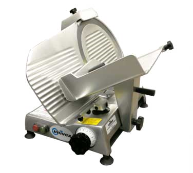 Economy Series Slicer, compact, manual gravity feed,