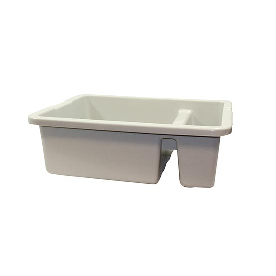 "Tote Box, 21""x15""x7"", divided, reinforced handles,"